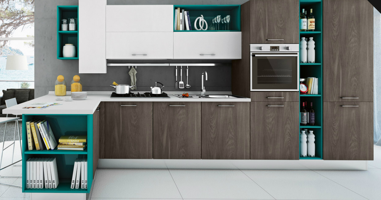 Matheria ala cucine arredare designed space for Ala arredamenti