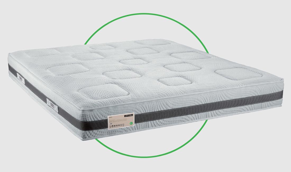 Materassi In Lattice Naturale Pirelli.Biomaterasso Pirelli Arredare Designed Space