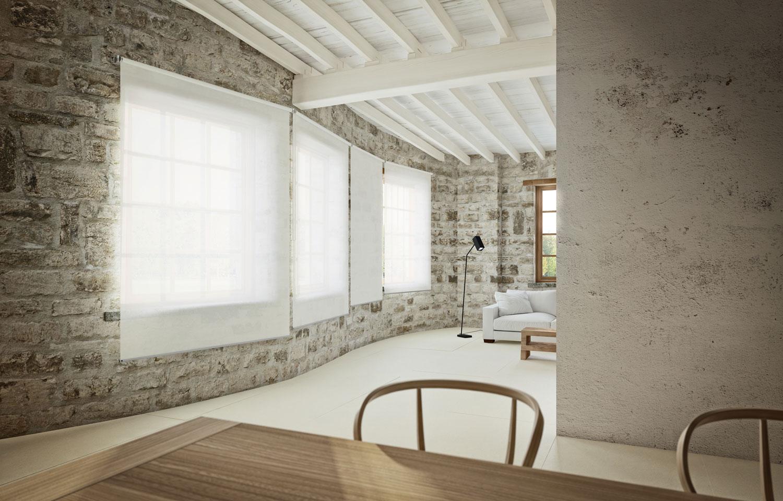 Tende Per Soffitti Inclinati flexy wall - mycore | arredare designed space